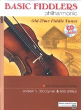 Basic Fiddlers Philharmonic: Old-Time Fiddle Tunes Book & Audio CD