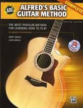 Alfred's Basic Guitar Method, Revised Edition--Book and CDs
