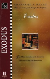 Exodus, Shepherd's Notes