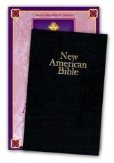 NABRE Deluxe Gift Bible, Bonded Leather, Black  - Imperfectly Imprinted Bibles