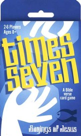 Times Seven: Sayings of Jesus, A Bible Verse Card Game