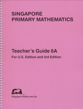 Singapore Math Primary Math Teacher's Guide 6A