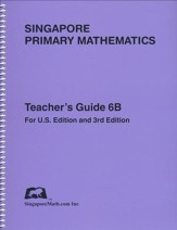 Singapore Math Primary Math Teacher's Guide 6B