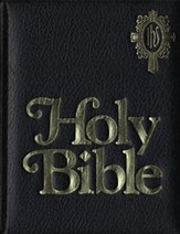NAB Catholic Family Bible, Imitation Leather, Black