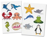 Aquatic Animals Labels Pack (20 6 x 4 Sheets; 120 Labels)