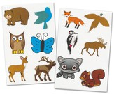 Woodland Animals Label Pack (20 6 x 4 Sheets; 120 Labels)