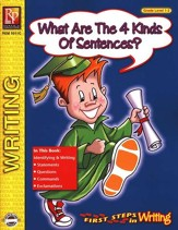 1st Steps in Writing: What are the 4 Kinds of Sentences Gr. 1-2
