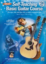 Alfred's Self-Teaching Basic Guitar Course Book & CD