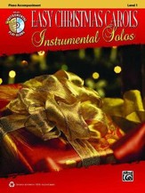 Easy Christmas Carols Instrumental Solos: Piano Book & CD