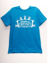 Adventures in Odyssey ® Adult T-Shirt, Antique Sapphire Small