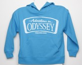 Adventures in Odyssey ® Youth Turquoise Hoodie, Medium
