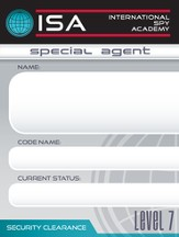 International Spy Academy Nametags, pack of 60