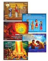 Pre-Primary Memory Verse Posters, Set of 5