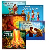 Toddler Memory Verse Posters, Set of 5