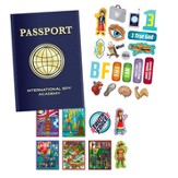 Passport and Sticker Set, Set of 10  - Slightly Imperfect
