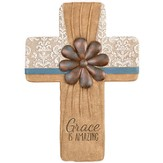 Grace Is Amazing Wall Cross