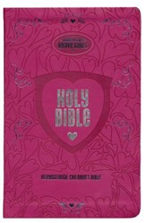 Tommy Nelson's Brave Girls Devotional Bible--soft leather-look, pink