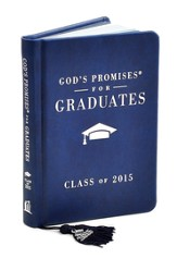 NKJV God's Promises for Graduates: Class of 2015, Navy