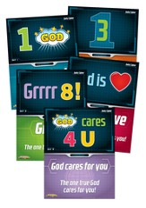 Daily overview posters, Toddler, Set of 5