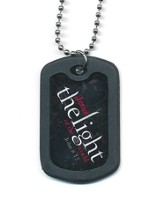 Faith Tag Dog Tag Necklace - The Light