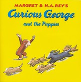 Curious George and the Puppies Softcover
