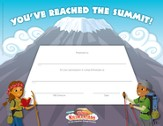 Camp Kilimanjaro VBS Completion Certificates (Pack of 10)