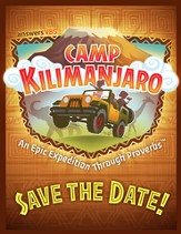 Camp Kilimanjaro VBS Save the Date Postcards (Pack of 40)