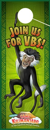 Camp Kilimanjaro VBS Door Hangers (Pack of 20)