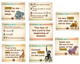 Camp Kilimanjaro VBS Primary Memory Verse Posters (Set of 8)