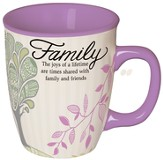 Family, Times Shared With Family and Friends Mug