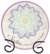 Sister, Forever Friends Mini Plate