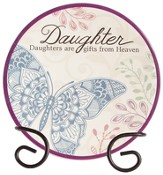 Daughter, Gifts From Heaven Mini Plate