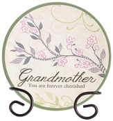 Grandmother, Forever Cherished Mini Plate