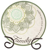 Family, A Circle Of Love and Laughter Mini Plate