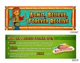 Camp Kilimanjaro VBS Admit Bookmarks (Pack of 10)