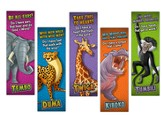 Camp Kilimanjaro VBS Animal Pals Bookmarks (2 Sets of 5  Cards; 10 Total Bookmarks; NKJV Version)