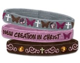 New Creation Stretch Bracelets, Set of 3