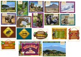 Camp Kilimanjaro VBS Decoration Poster Set (Set of 20  Posters)