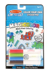 Color Your Own Sticker Activity Book, Blue