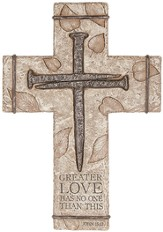 Greater Love Wall Cross