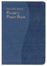 New Saint Joseph's People's Prayer Book, Imitation Leather, Blue