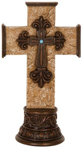 Ornate Pedestal Cross