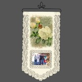 Children Are A Gift From God, Lace Wall Hanging