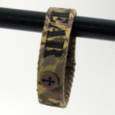 Fear Not Camo, Canvas Bracelet