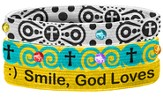 Smile Stretch Bracelets, Set of 3
