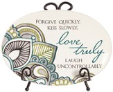 Forgive Quickly Mini Plate
