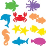 Ocean Commotion VBS Underwater Cutouts (Set of 10)