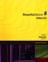 Rosetta Stone American English, Level 1, Version 3 Workbook