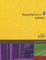 Rosetta Stone Latin American Spanish Level 3, Version 3 Workbook