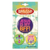 Jesus Is My BFF Button Set